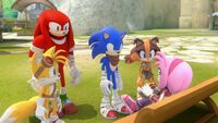 SB S1E27 Team Sonic chat