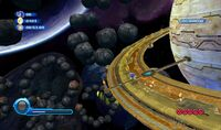Sonic Colors Asteroid Coaster
