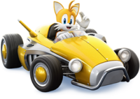 Sonic Racing Tails