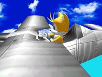 Tails pilot (Sonic Adventure DX)