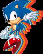 Sonic Mania Sonic art 1