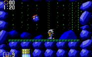 8bit Silver Sonic 10
