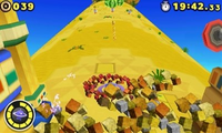 Incoming rolling obstacles