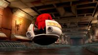 S1E22 Eggman Eggmobile temple hallway back