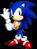 Sonic CD Sonic art 2.png