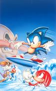 Sonic Triple Trouble artwork
