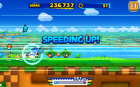 Windy Hill (Sonic Runners) - Screenshot 1