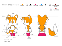 Classic tails orthographic svg