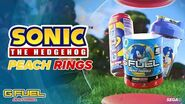 G FUEL - Sonic's Peach Rings - INSPIRED BY SONIC THE HEDGEHOG