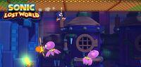 Octus in Sonic Lost World
