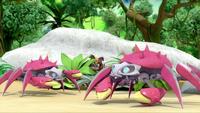 SB S1E19 Sticks hide Crab Bots