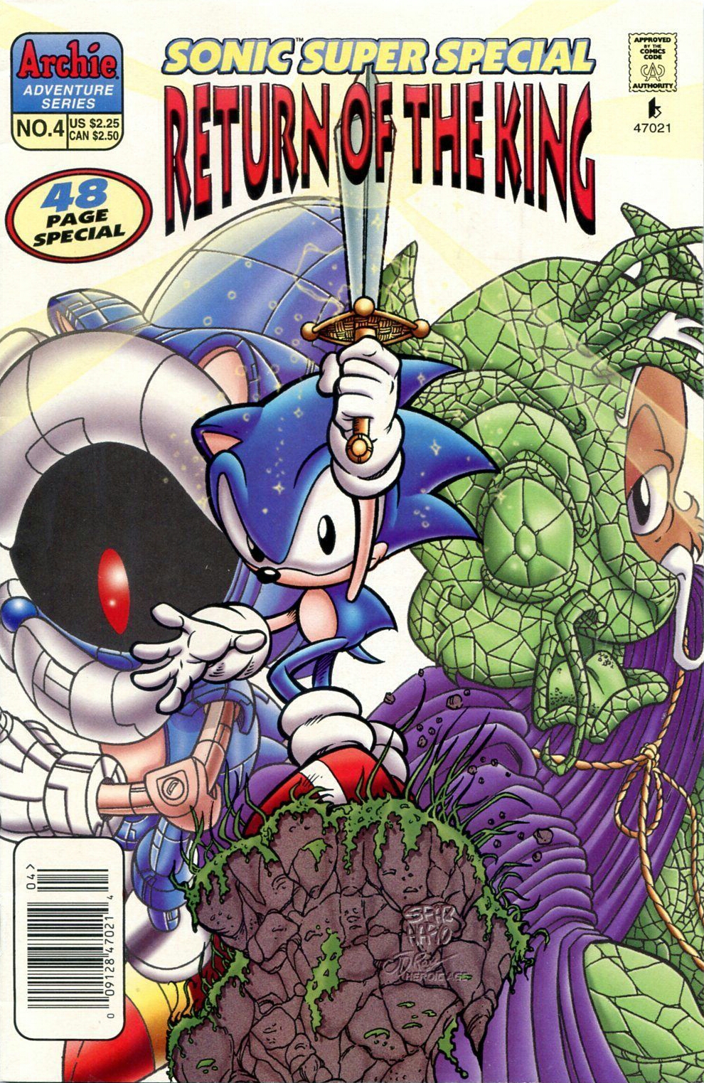 Archie Sonic Super Special Issue 4