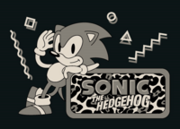 Sonic 1 Cospa graphic