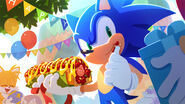 Sonic Channel Sonic's birthday 2020