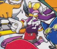 Sonic Riders art 2D promo Wave