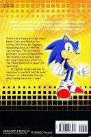 Sonic X Eggman Goes To War book back
