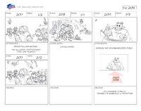 Unlucky Knuckles storyboard 24