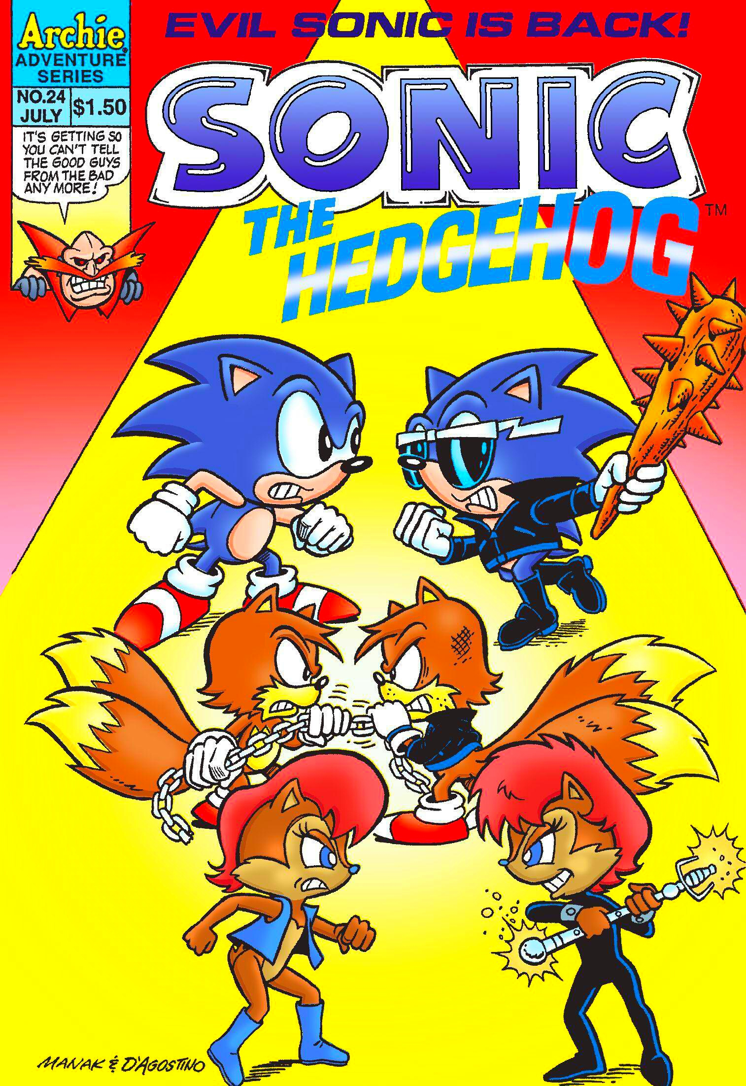 Archie Sonic the Hedgehog Issue 24