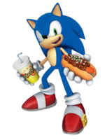 Joypolis Sonic chili dog