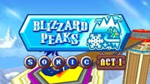 ᴴᴰ_DesMuMe_-_Sonic_Rush_Adventure_Blizzard_Peak,_Sonic_-_Act_1_【1080_60FPS】