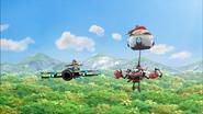 Bygone Island flight
