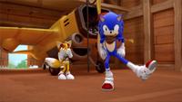 SB S1E19 Sonic Tails test montage dance 3