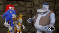 Sonic Tails Knuckles and Salty