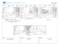 The Curse of the Buddy Buddy Temple storyboard 14