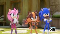 SB S1E40 Amy Sticks Sonic proud