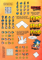 Sonic the Hedgehog Puzzle Book 1 - extras 3