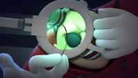 SB S1E08 Eggman magnifying glass hair