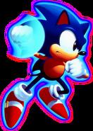 Sonic CD Sonic art 4