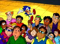 Sonic arrives