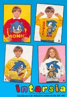 Sonic the Hedgehog 4 Knitting Patterns BackCover