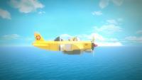 SB S1E18 Tails plane flashback sky