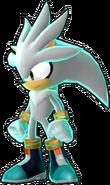 Silver Sonic Runners Model (2)