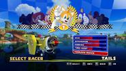 Sonic and Sega All Stars Racing character select 20
