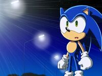 Sonic seeing Sam Speed for the first time