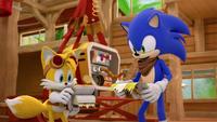 SB S1E21 Tails Sonic workshop