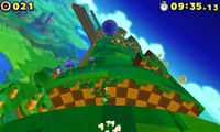 Spin Jump in Lost World