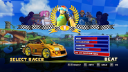Sonic and Sega All Stars Racing character select 06