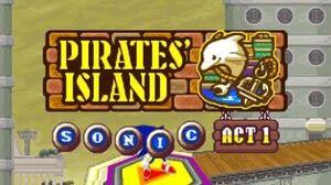 ᴴᴰ_DesMuMe_-_Sonic_Rush_Adventure_Pirate's_Island,_Sonic_-_Act_2