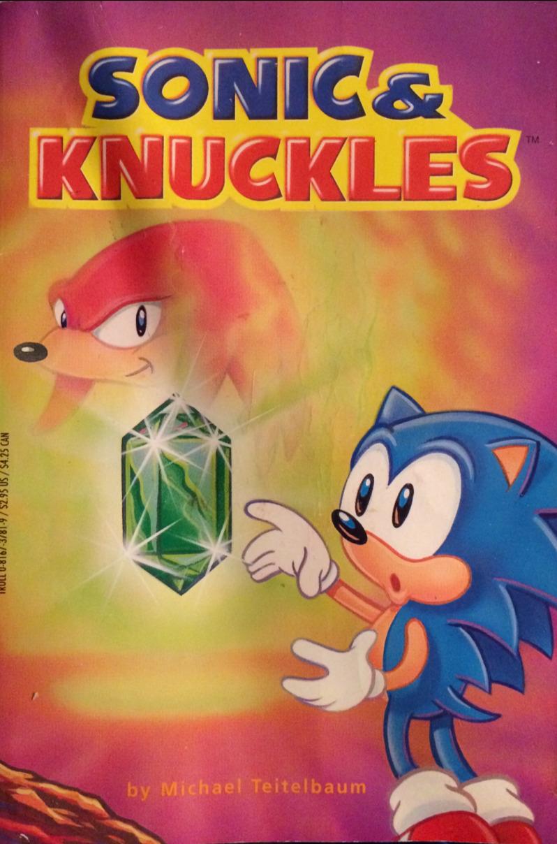 Sonic & Knuckles (Troll Associates book)