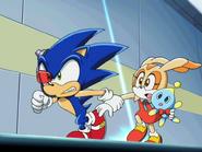 Sonic X ucieczka z Area 99