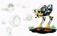 CD Eggman boss concept
