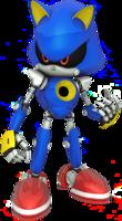 Modern 3D Metal Sonic