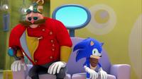 SB S1E41 Eggman Sonic awkward relationship