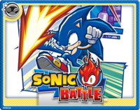 Sonic Battle Online Card