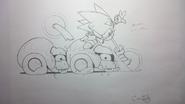 Sonic CD animation koncept 3