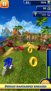 Sonic Dash screen 4